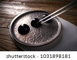 molecular cuisine concept... | Shutterstock . vector #1031898181