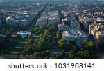 great aerial view of downtown... | Shutterstock . vector #1031908141