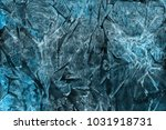 colorful winter blue ink and... | Shutterstock . vector #1031918731