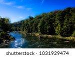 River Landscape Pennsylvania In ...