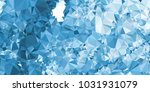 low polygonal mosaic layout for ...   Shutterstock .eps vector #1031931079