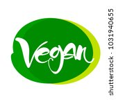 vegan. vector illustration....   Shutterstock .eps vector #1031940655