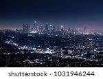 California Cityscape At Night