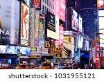 new york  united states   feb... | Shutterstock . vector #1031955121