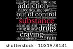substance word cloud on a white ... | Shutterstock .eps vector #1031978131
