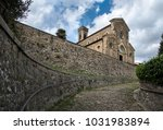 church in the medieval town of... | Shutterstock . vector #1031983894