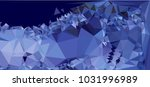low polygonal mosaic layout for ...   Shutterstock .eps vector #1031996989