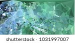 low polygonal mosaic layout for ... | Shutterstock .eps vector #1031997007