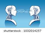 ai. artificial intelligence ... | Shutterstock .eps vector #1032014257