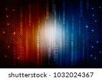 2d illustration abstract...   Shutterstock . vector #1032024367