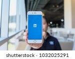 chiang mai  thailand   feb 22... | Shutterstock . vector #1032025291