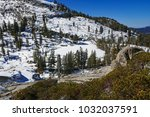 aster lake  sequoia lakes trail ... | Shutterstock . vector #1032037591