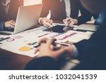 detailed consultation between... | Shutterstock . vector #1032041539