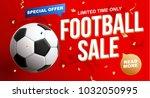 football 2018 world... | Shutterstock .eps vector #1032050995