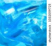 abstract oil paint texture on... | Shutterstock . vector #1032059725