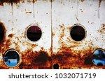 metal background of natural...   Shutterstock . vector #1032071719