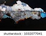 metal background of natural...   Shutterstock . vector #1032077041