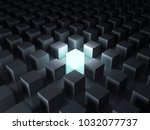 stand out from the crowd and... | Shutterstock . vector #1032077737