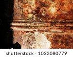 metal background of natural...   Shutterstock . vector #1032080779