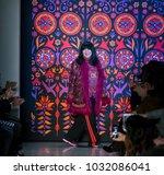 new york  ny   february 12 ...   Shutterstock . vector #1032086041