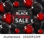 black friday sale banner... | Shutterstock .eps vector #1032091249