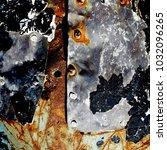 metal background of natural...   Shutterstock . vector #1032096265