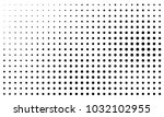 abstract monochrome halftone... | Shutterstock .eps vector #1032102955