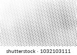 abstract monochrome halftone... | Shutterstock .eps vector #1032103111