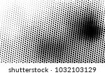 abstract monochrome halftone... | Shutterstock .eps vector #1032103129