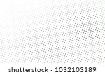 abstract monochrome halftone... | Shutterstock .eps vector #1032103189