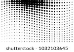 abstract monochrome halftone... | Shutterstock .eps vector #1032103645