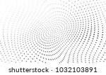 abstract monochrome halftone... | Shutterstock .eps vector #1032103891