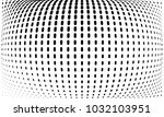 abstract monochrome halftone... | Shutterstock .eps vector #1032103951
