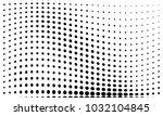 abstract monochrome halftone... | Shutterstock .eps vector #1032104845
