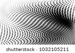 abstract monochrome halftone... | Shutterstock .eps vector #1032105211