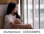 portrait of thai teen beautiful ... | Shutterstock . vector #1032106891