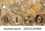 popular cryptocurrency litecoin ... | Shutterstock . vector #1032129484