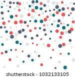 festive butterfly confetti...   Shutterstock .eps vector #1032133105