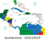 central america and the... | Shutterstock .eps vector #103214519