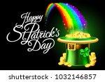 A Happy St Patricks Day Sign...