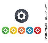cog icon vector | Shutterstock .eps vector #1032148894