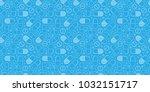 medicine seamless pattern... | Shutterstock .eps vector #1032151717