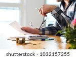 financial problems  recession ... | Shutterstock . vector #1032157255