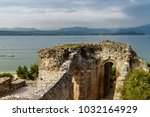 a view of lake garda from... | Shutterstock . vector #1032164929