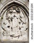 antwerp  belgium   september 5  ... | Shutterstock . vector #1032183184
