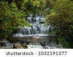 purakaunui falls  the catlins... | Shutterstock . vector #1032191377