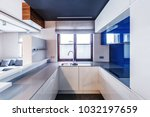 window in modern  white and... | Shutterstock . vector #1032197659
