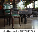 antique childs chair  child... | Shutterstock . vector #1032230275