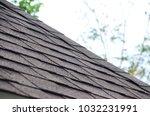 the art of roofing design using ... | Shutterstock . vector #1032231991