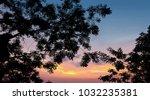 dramatic atmosphere panorama ... | Shutterstock . vector #1032235381